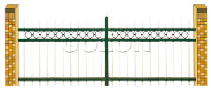 Fentech Top Standard Cheap Widely Used Front Yard Fencing pictures & photos
