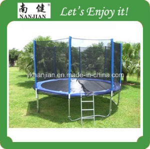 Huge Indoor Trampoline Tent/Big Round Trampoline with Safety Net pictures & photos