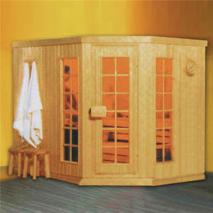 Multi Size Choice Traditional Sauna House with Hook Outside (M-6001) pictures & photos