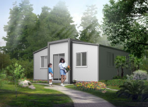 Prefabricated Granny House with Bedroom, Kitchen, Bathroom pictures & photos