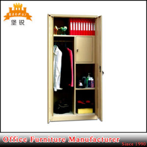 Strong Swing Door Wardrobe with Small Inside Locker pictures & photos