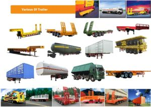 Top Quality Cargo Semi-Trailer for 10-100 Tons