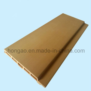 PVC Waterproof 75*9mm WPC Wall Panels
