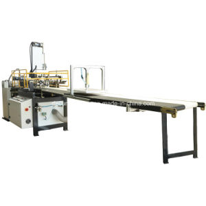 Automatic Paper Gluing & Box Positioning Machine for Rigid Box Making (YX-6418C) pictures & photos
