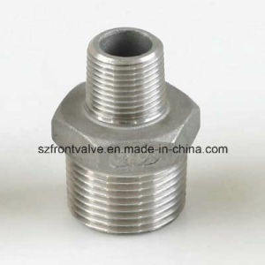 Stainless Steel 304/316 Screwed Hexagon Nipple pictures & photos