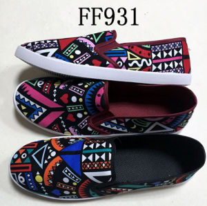 Latest Men Injection Causal Shoes Leisure Shoes Canvas Shoes (FF931) pictures & photos