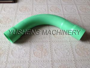 Plastic Pipe Fitting PVC Double Bell Mouth 90 Degree Bend pictures & photos