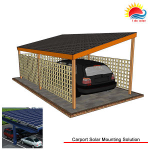 Solar Energy Ground Mounting System Carport Structure (MD0238) pictures & photos
