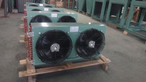 China Good Supplier Fin Type Cooper Tube Air Condenser for Refrigeration Unit pictures & photos