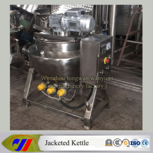 Jacketed Cooking Pot with Electric Heat Source pictures & photos