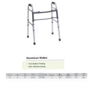 Two Button Folding Walker