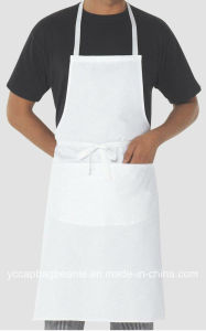 100%Polyester Promotional Blank Bib Kitchen Apron pictures & photos