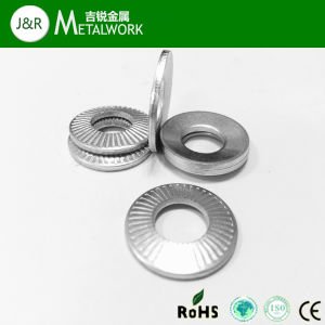 White Zinc Plated Conical Spring Washer DIN6796 pictures & photos