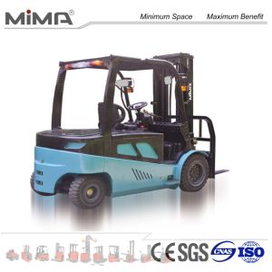 Comfortable Seat Double AC Electric Forklift pictures & photos