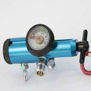 Brass Medical Oxygen Pressure Regulator / Mini Cga870 Yoke Style pictures & photos
