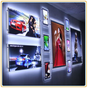 Wall Hanging LED Crystal Light Box with A3 Picture pictures & photos