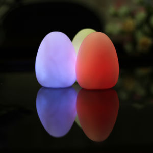 Egg Shape Colorful LED Light for Party/Festival/Christmas Decoration pictures & photos