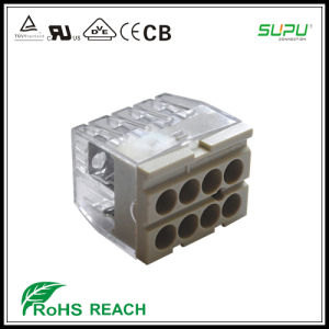 8-Pole Push Wire Connector pictures & photos