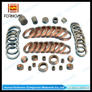 Aluminium/Titanium/Stainless Steel Explosion Welding Clad Metal Transition Joints for Connecting Pipe pictures & photos