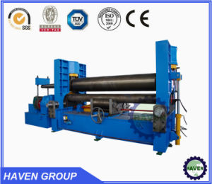 W11S Hydraulic Rolling machine, CNC plate rolling machine three roll pictures & photos