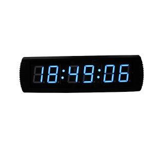 [Ganxin] LED Digital Large Smart Mounted Digital Wall Clock Alarm Clock pictures & photos