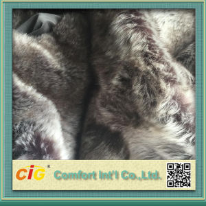 Printing Designs Artificial Fur Fabric for Dressing Stool pictures & photos