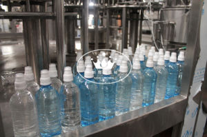 15000bph Sport Cap Bottle Filling Line with Solenoid Valve Water Inlet pictures & photos
