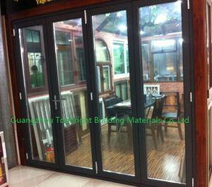 Thermal Break Aluminum Folding Bi Folding Patio Door pictures & photos