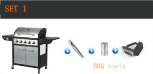 Wholesale Commercial Outdoor Kitchen, BBQ Gas, Gas Grill with 6burners pictures & photos