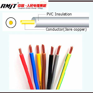 DIN Standard H05V-U H03V-U H07V-U Electrical Copper Wire pictures & photos