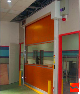 Industrial Rolling Gate Rapid Roller Shutter Door (HF-097) pictures & photos