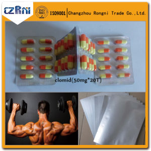 High 99% Purity Antineoplastic Crude Drug Clomiphene /Clomid pictures & photos