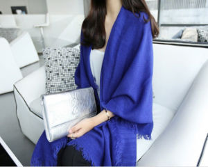 Lady Long Style Fashion Cotton Winter Scarf/Shawl pictures & photos