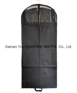 Promotional Black Nonwoven PP Cloth Suit Cover pictures & photos