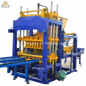Pavement Brick Hydraulic Forming Machine Qt5-15 Interlocking Block Making Machine in Nigeria pictures & photos