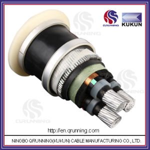 6.35/11kv Al/XLPE/Sta/PVC (or PE) Power Cable