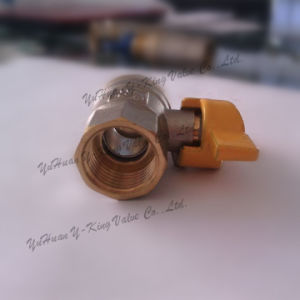 Forged Plumbing Brass Gas Ball Valve (YD-1023-1) pictures & photos