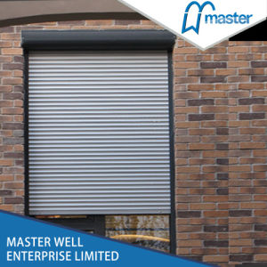 Electric Roller Shutter Window/Aluminium Blind Windows pictures & photos