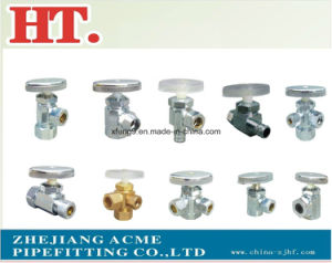 Chorme Plating Brass Forged Male Angle Valve With Zinc Handle pictures & photos