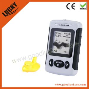 china dot matrix wireless portable sonar fish finder (ffw718, Fish Finder
