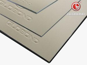 GLOBOND Polyester Aluminium Composite Panel (PE-322 Silver Metallic) pictures & photos