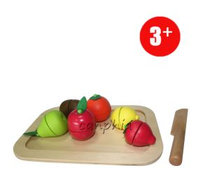 Wooden Cutting Fruits Toy pictures & photos