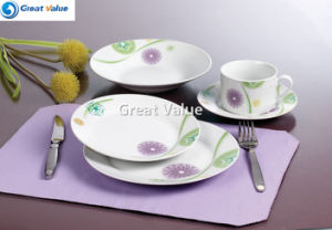 Hot Sale 20PCS Porcelain Dinner Set pictures & photos