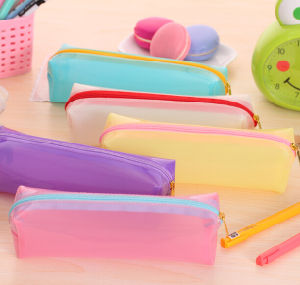 Fashion Brief Pencil PVC Stationery Bag pictures & photos