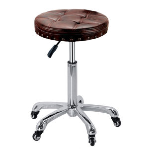 Wholesale Adjustable Swivel Salon and Massage Stool pictures & photos
