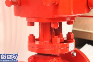 Pneumatic Flanged Cryogenic Ball Valve pictures & photos