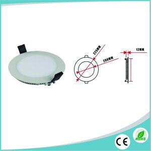 Top Quality 18W Round LED Panel Ultra Slim LED Downlight with Ce RoHS Approved pictures & photos