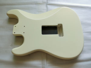 Hot Sale Vintage Cream Nitro Finished Ssh Strat Guitar Body pictures & photos