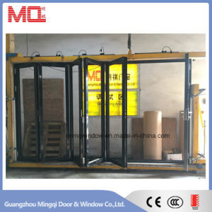 Finished Thermal Break Aluminum Bi Fold Door Price in Guangzhou pictures & photos