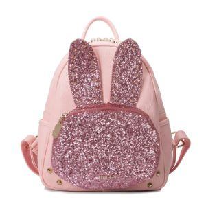 Cute Glitter Rabbit Backpack Cartoon Studs Fashion Handbags